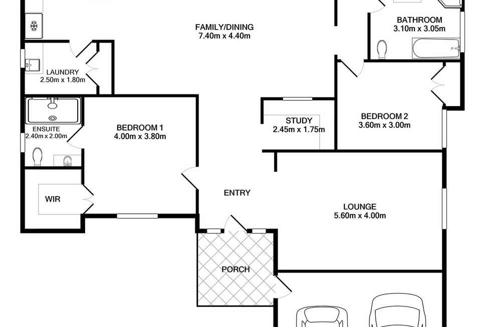 Floorplan of Homely house listing, 4 James Atkins Close, Dunbogan NSW 2443
