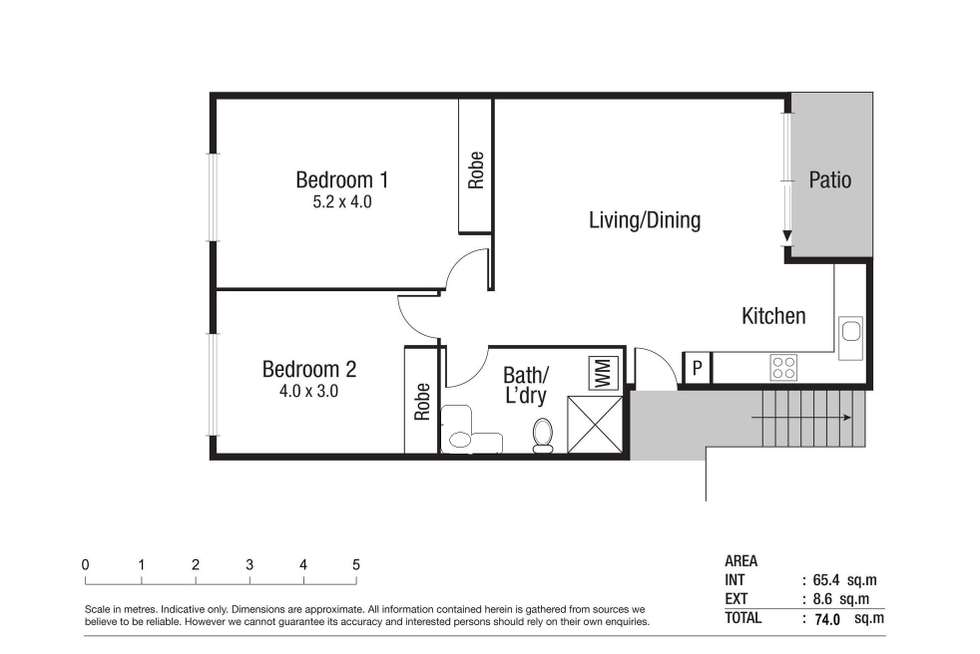 Floorplan of Homely unit listing, 109/15-19 Gregory Street, North Ward QLD 4810