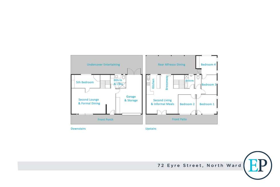 Floorplan of Homely house listing, 72 Eyre Street, North Ward QLD 4810