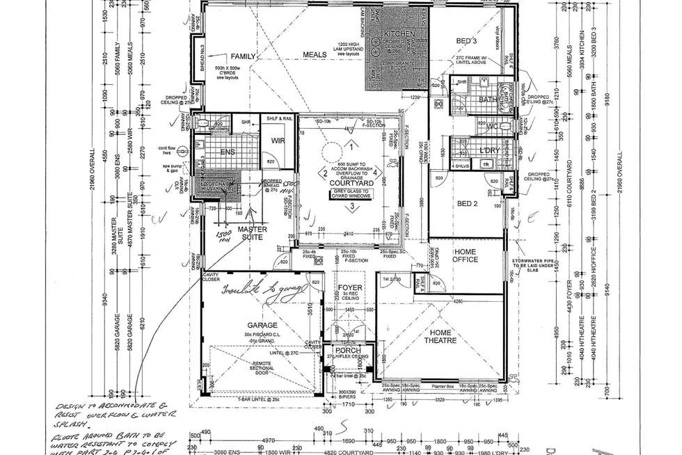 Floorplan of Homely house listing, 70 Mannikin Heights, Beeliar WA 6164