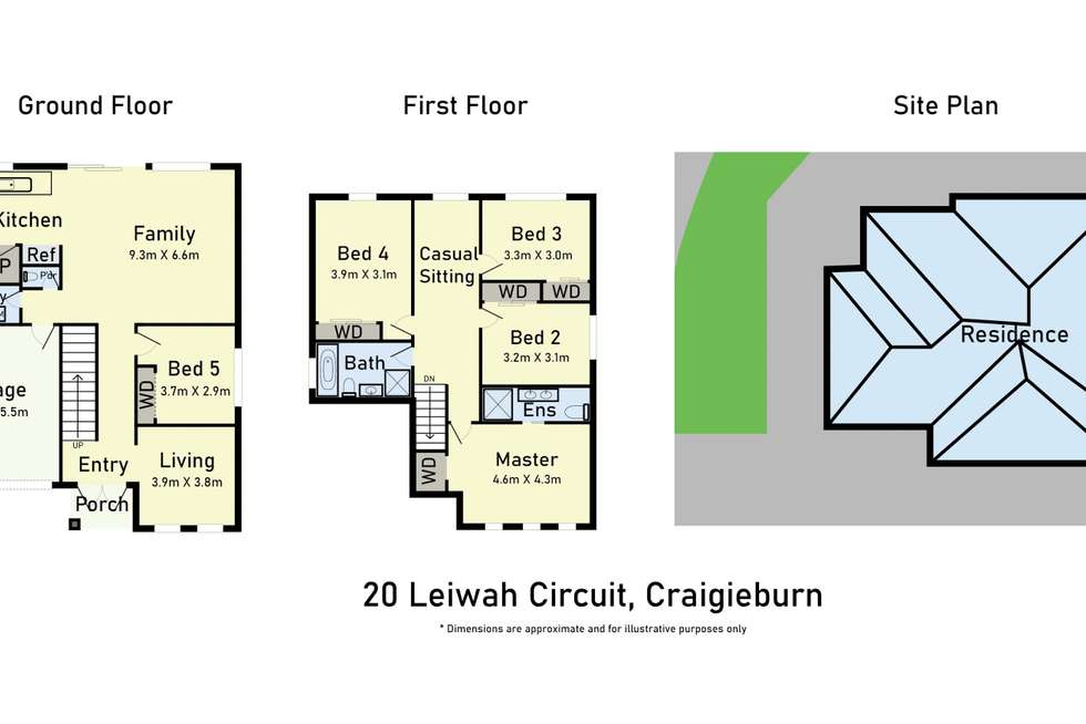 Floorplan of Homely house listing, 20 Liewah Circuit, Craigieburn VIC 3064