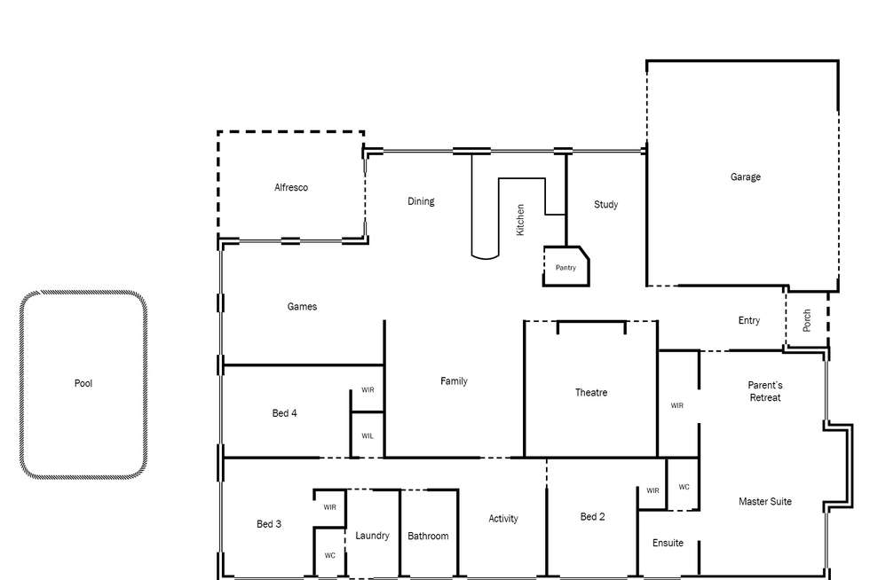 Floorplan of Homely house listing, 28 Mandalay Bend, Secret Harbour WA 6173