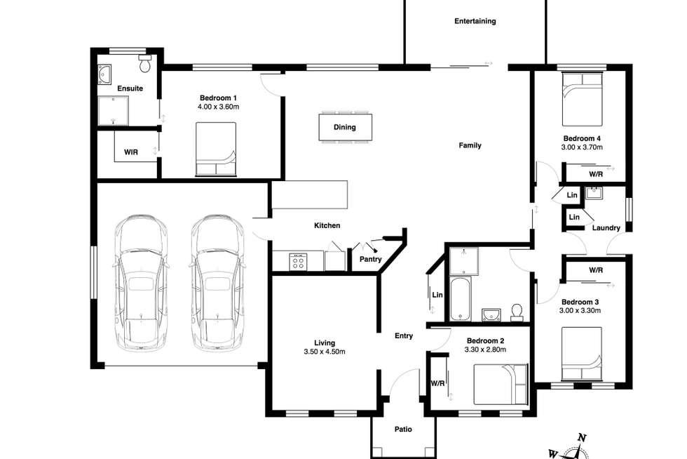 Floorplan of Homely house listing, 17 Edinburgh Drive, Taree NSW 2430