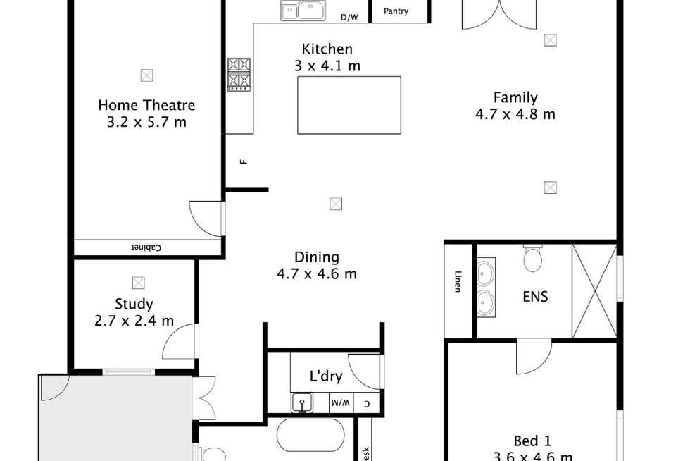 Floorplan of Homely house listing, 42 Sturt Avenue, Colonel Light Gardens SA 5041