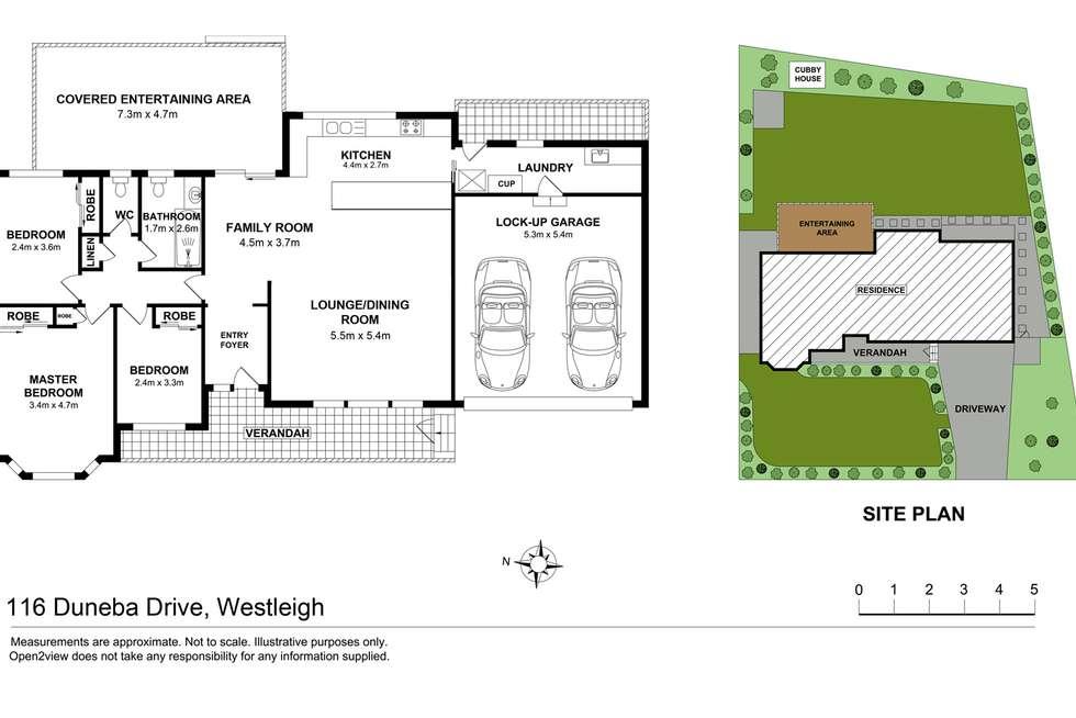 Floorplan of Homely house listing, 116 Duneba Drive, Westleigh NSW 2120