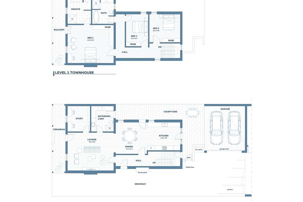 Floorplan of Homely house listing, 1 144 South Terrace, Adelaide SA 5000