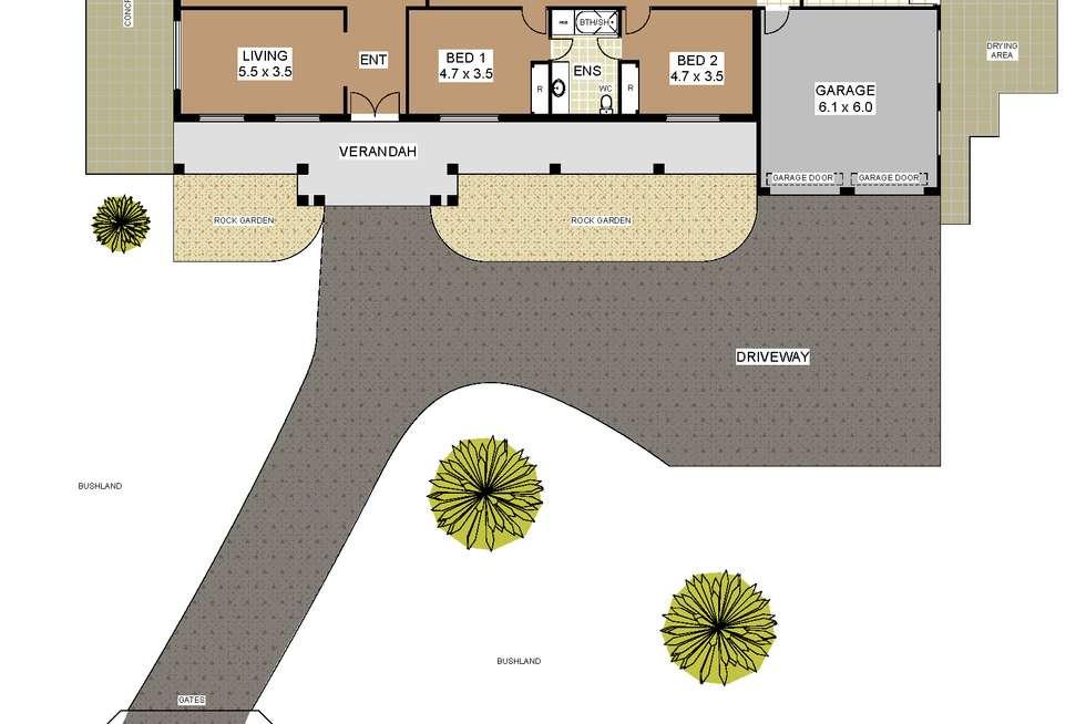 Floorplan of Homely house listing, 28 Boulonnais Drive, Brigadoon WA 6069