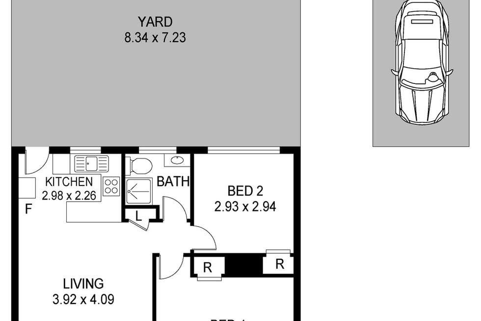 Floorplan of Homely villa listing, 2/11A Warwick Street, Blackwall NSW 2256