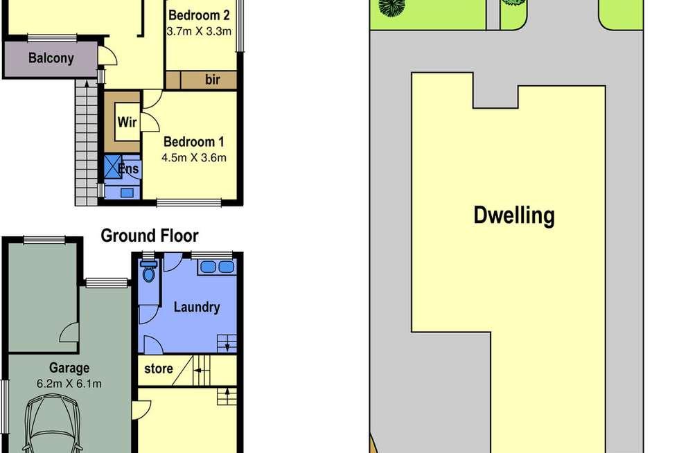 Floorplan of Homely house listing, 51 Churchill Avenue, Reservoir VIC 3073