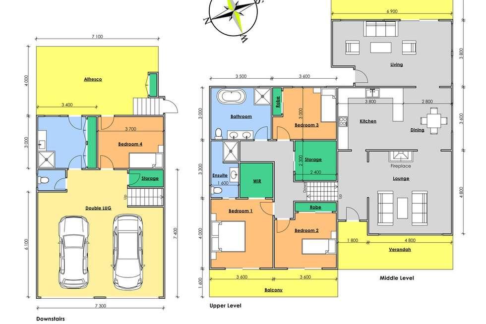 Floorplan of Homely house listing, 15 Warrawillah Avenue, Wingham NSW 2429
