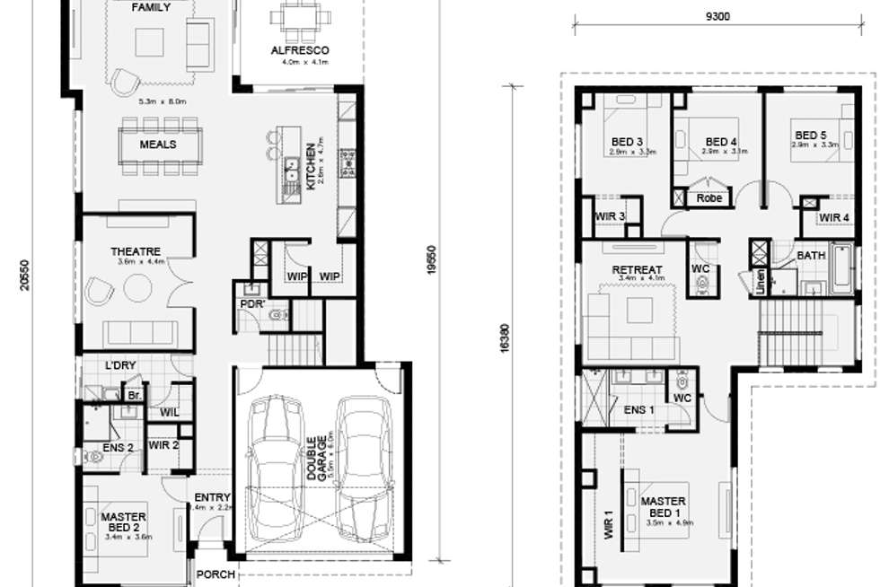 Floorplan of Homely house listing, LOT 193 Altezze Drive (Grandview Estate), Truganina VIC 3029