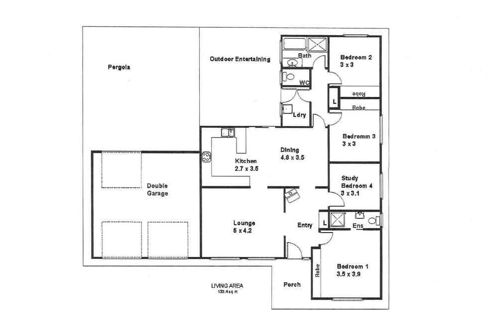Floorplan of Homely house listing, 101 Kay Avenue, Berri SA 5343