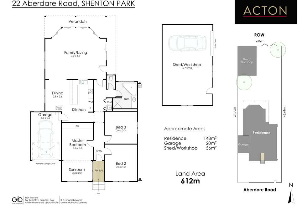 Floorplan of Homely house listing, 22 Aberdare Road, Shenton Park WA 6008