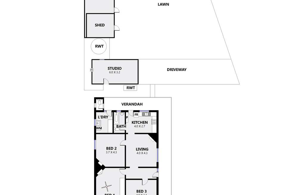 Floorplan of Homely house listing, 29 Springbank Rd, Colonel Light Gardens SA 5041