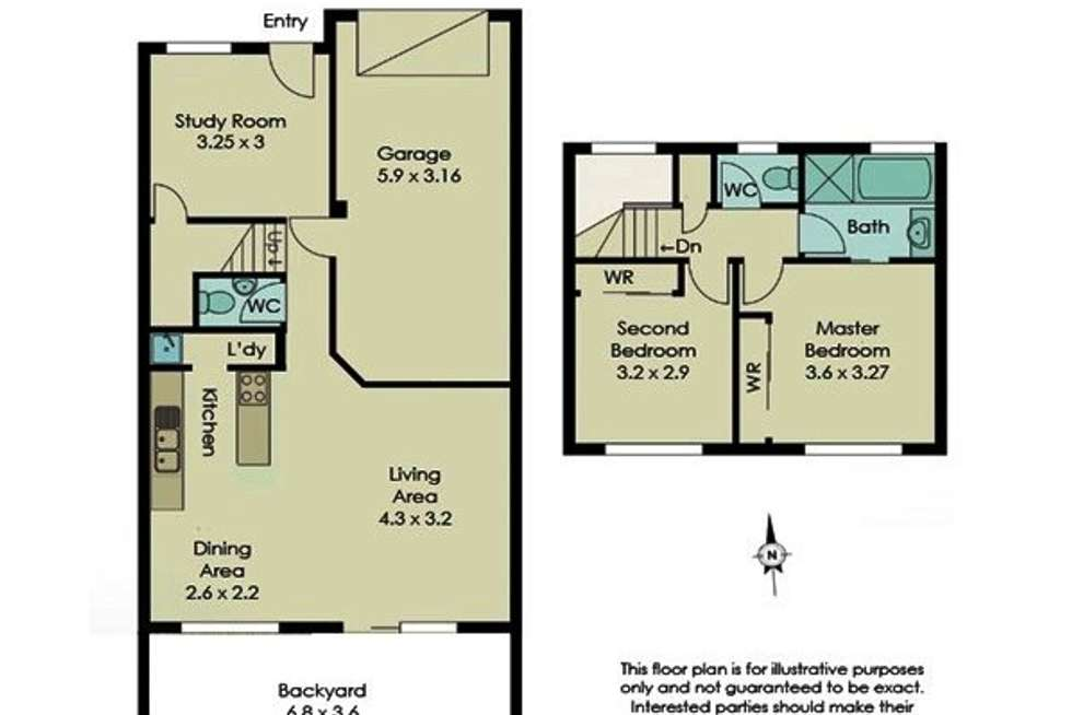 Floorplan of Homely townhouse listing, 45/1230 Creek Road, Carina Heights QLD 4152