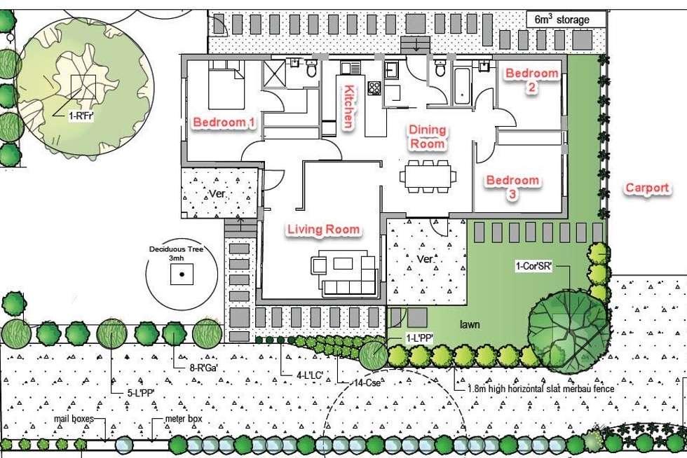 Floorplan of Homely unit listing, 1/29 Holloway Road, Croydon North VIC 3136