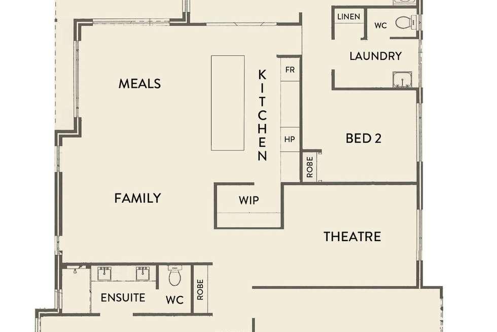 Floorplan of Homely house listing, 176 Badgerup Avenue, Lakelands WA 6180
