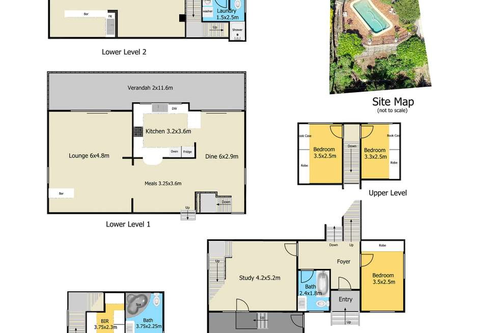 Floorplan of Homely house listing, 5 Bay View Crescent, Blackwall NSW 2256