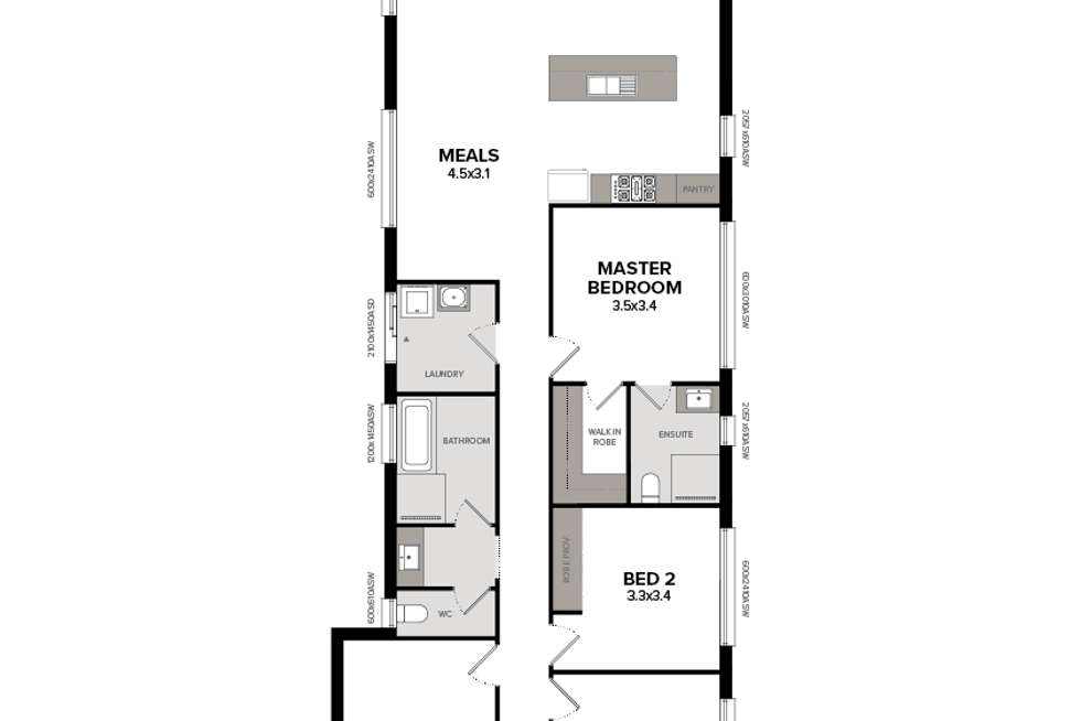 Floorplan of Homely house listing, Lot 510 Fifth Avenue, Woodville Gardens SA 5012