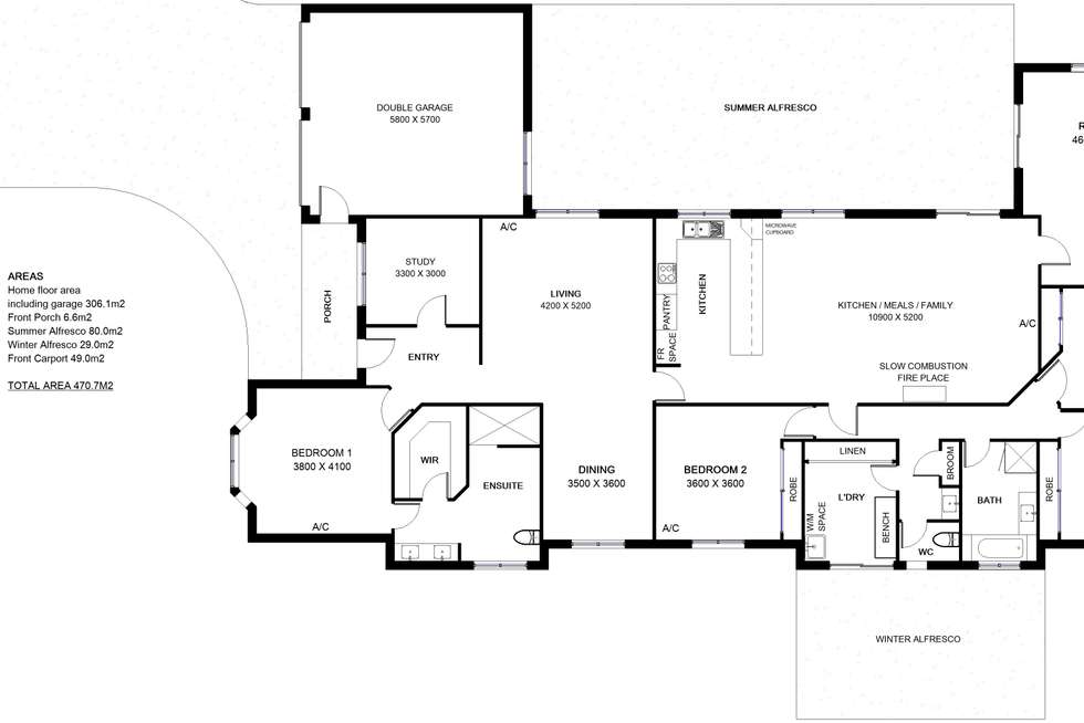 Floorplan of Homely house listing, 7-9 Holm Place, Cornubia QLD 4130