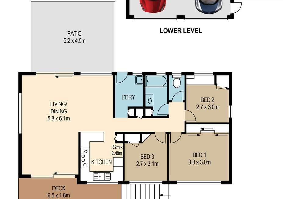 Floorplan of Homely house listing, 2 Suncroft Street, Mount Gravatt QLD 4122