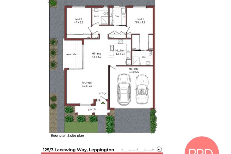Floorplan of Homely house listing, 3 Lacewing Way, Leppington NSW 2179