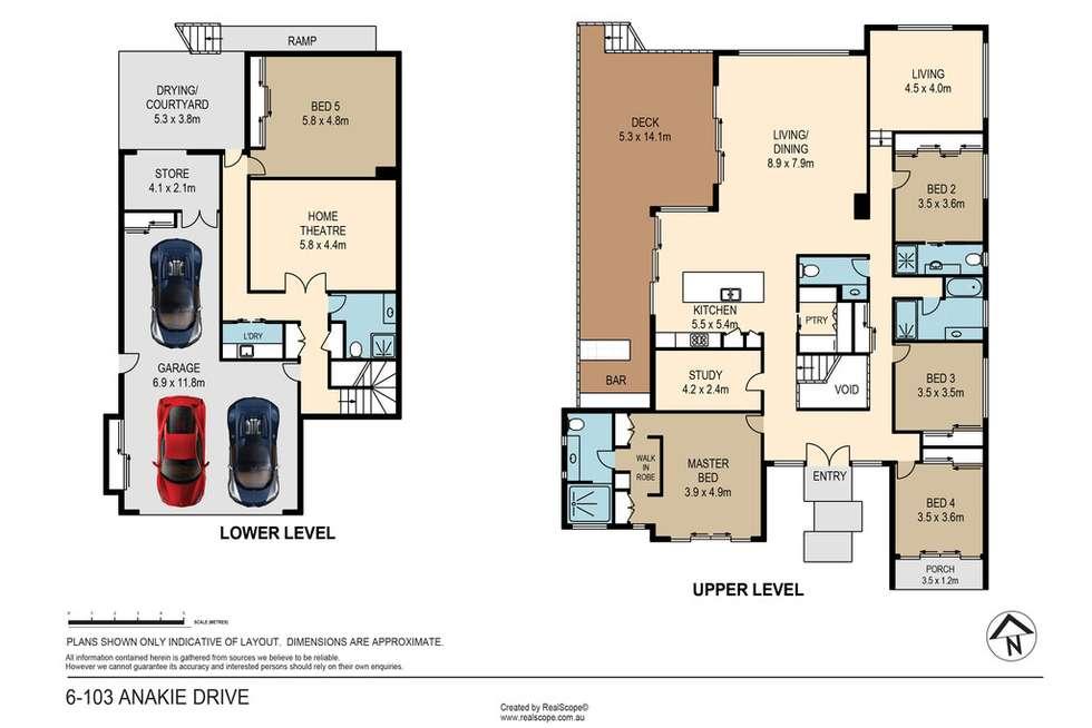 Floorplan of Homely house listing, 6 Torrelliana Court, Cornubia QLD 4130