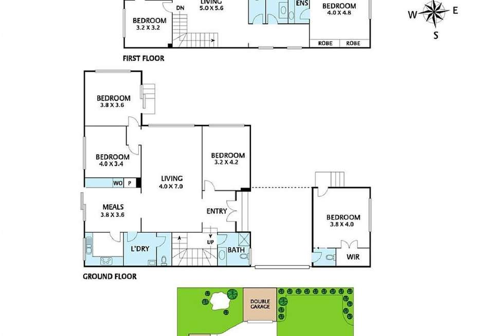 Floorplan of Homely house listing, 7/1-3 Albion Road, Box Hill VIC 3128