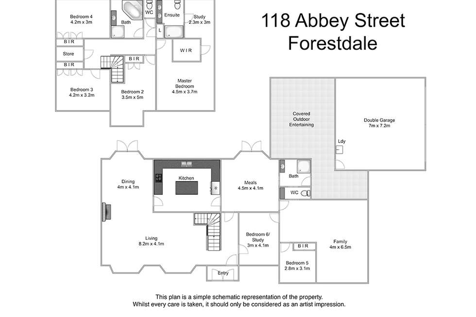Floorplan of Homely house listing, 118 Abbey Street, Forestdale QLD 4118