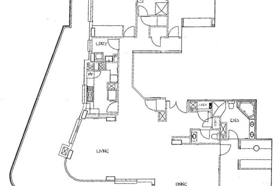Floorplan of Homely apartment listing, 322/158-166 Day Street (289-295 Sussex Street), Sydney NSW 2000