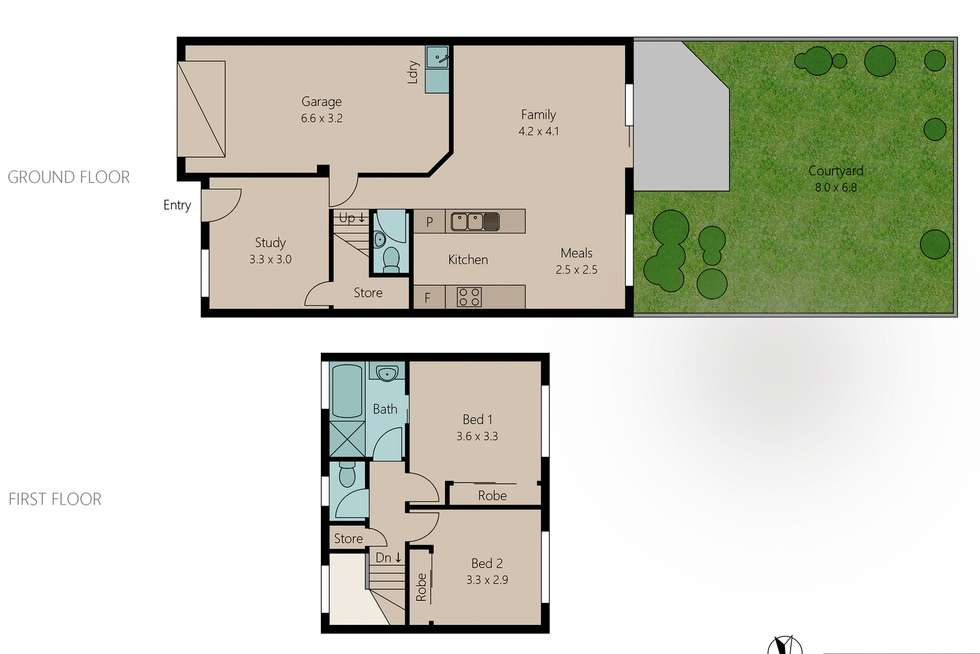 Floorplan of Homely townhouse listing, 67/1230 Creek Road, Carina Heights QLD 4152