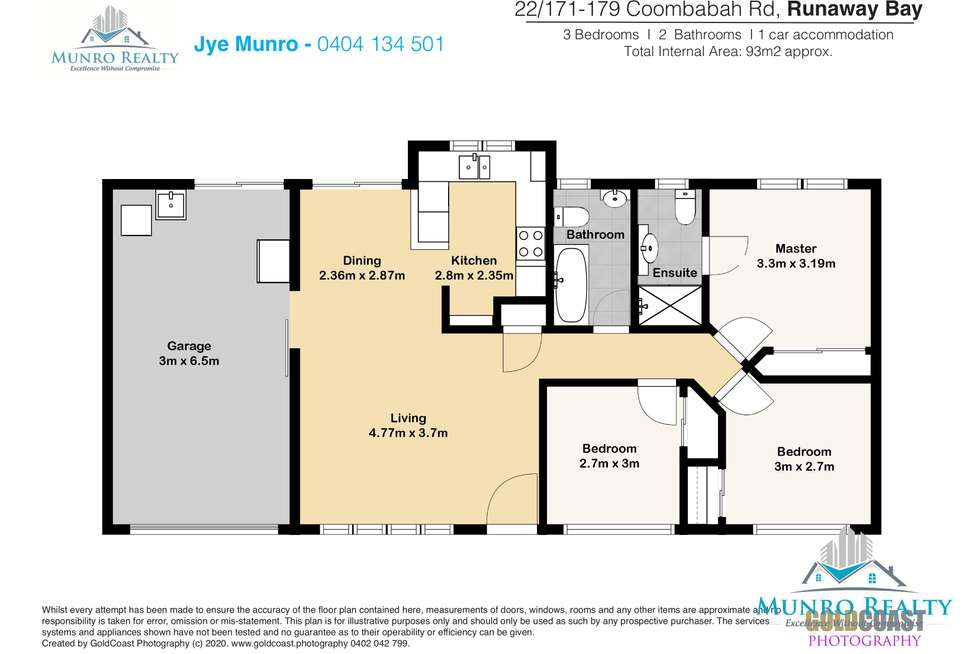 Floorplan of Homely unit listing, 22/171 Coombabah Road, Runaway Bay QLD 4216
