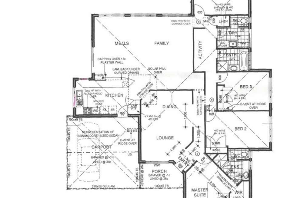 Floorplan of Homely house listing, 3 Dianella Court, Strathalbyn WA 6530