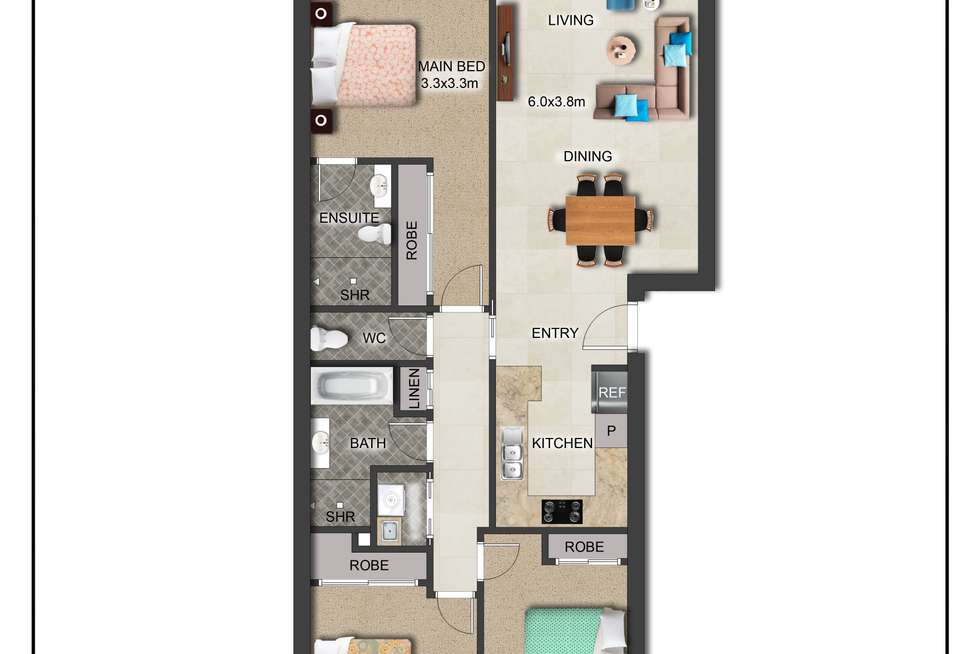 Floorplan of Homely apartment listing, 99/31 Thynne Street, Bruce ACT 2617