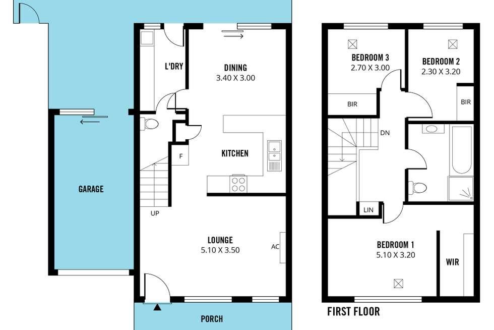 Floorplan of Homely house listing, 15 Blight Street, Ridleyton SA 5008
