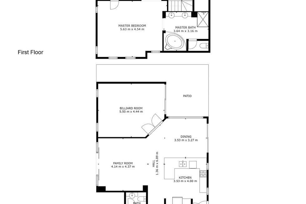 Floorplan of Homely house listing, 3 Carew Vista, Ellenbrook WA 6069