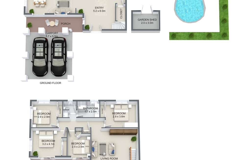 Floorplan of Homely house listing, 20 Moygara Street, The Gap QLD 4061