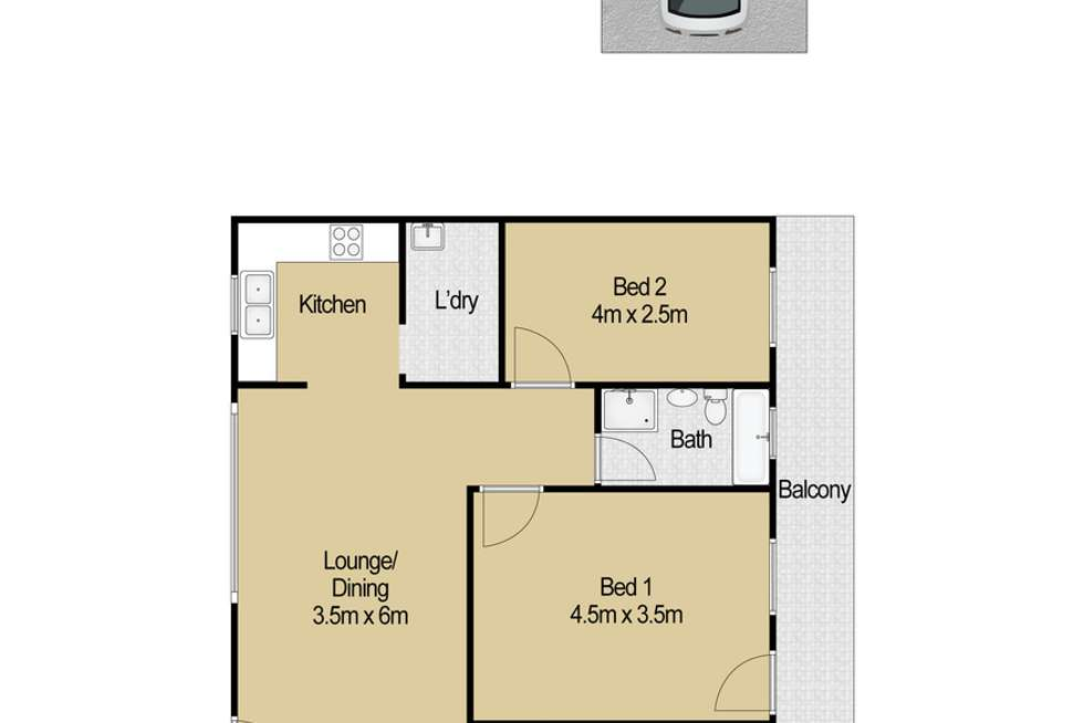 Floorplan of Homely house listing, 3/68 Meehan Street, Granville NSW 2142