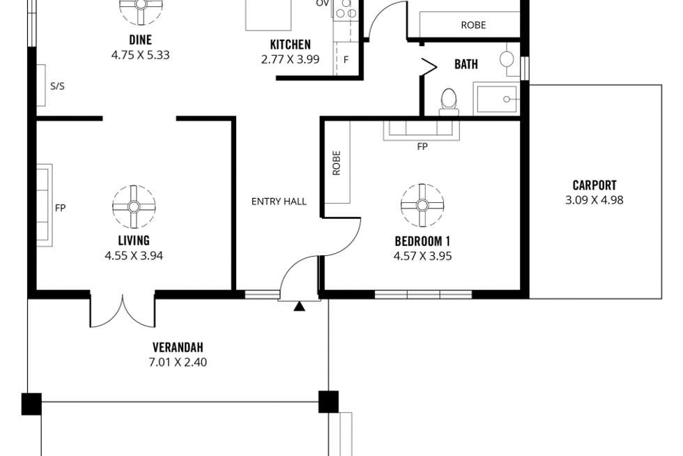 Floorplan of Homely house listing, 17 Alma Road, Fullarton SA 5063
