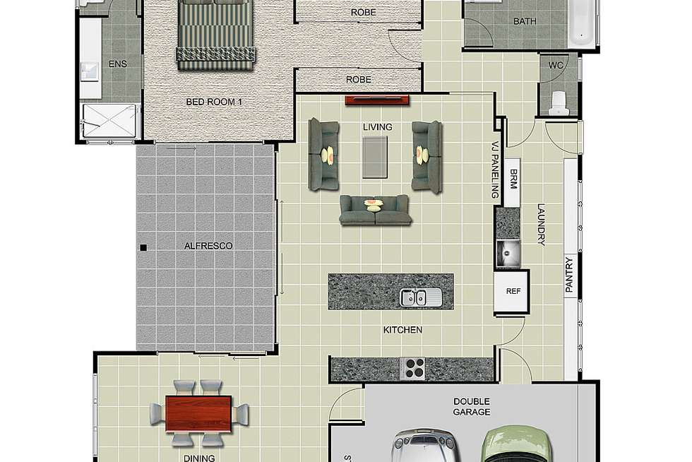 Floorplan of Homely house listing, 8a Greenham Street, Raceview QLD 4305