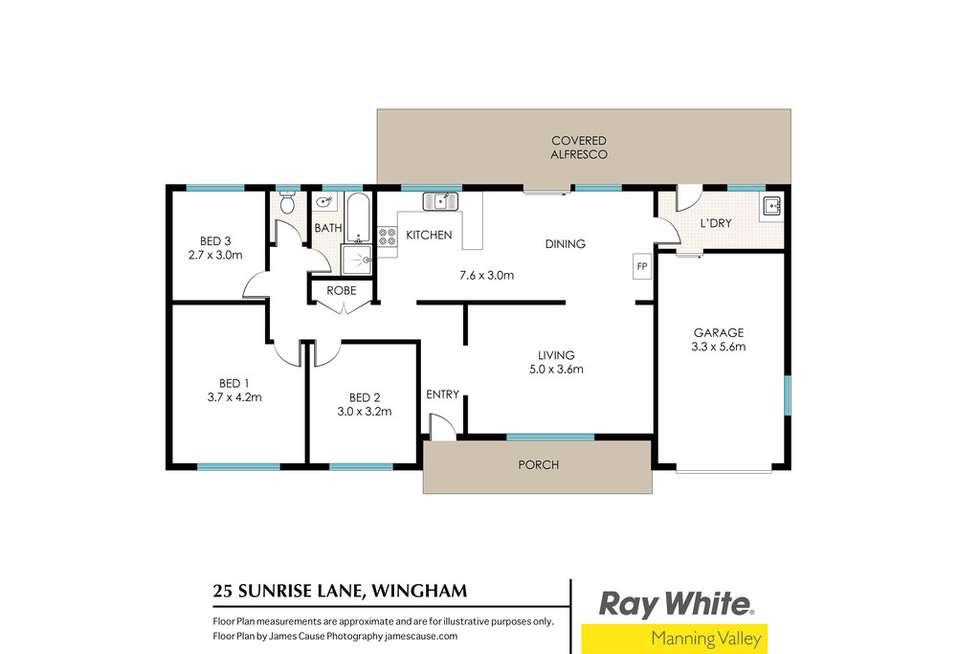 Floorplan of Homely acreageSemiRural listing, 25 Sunrise Lane, Wingham NSW 2429