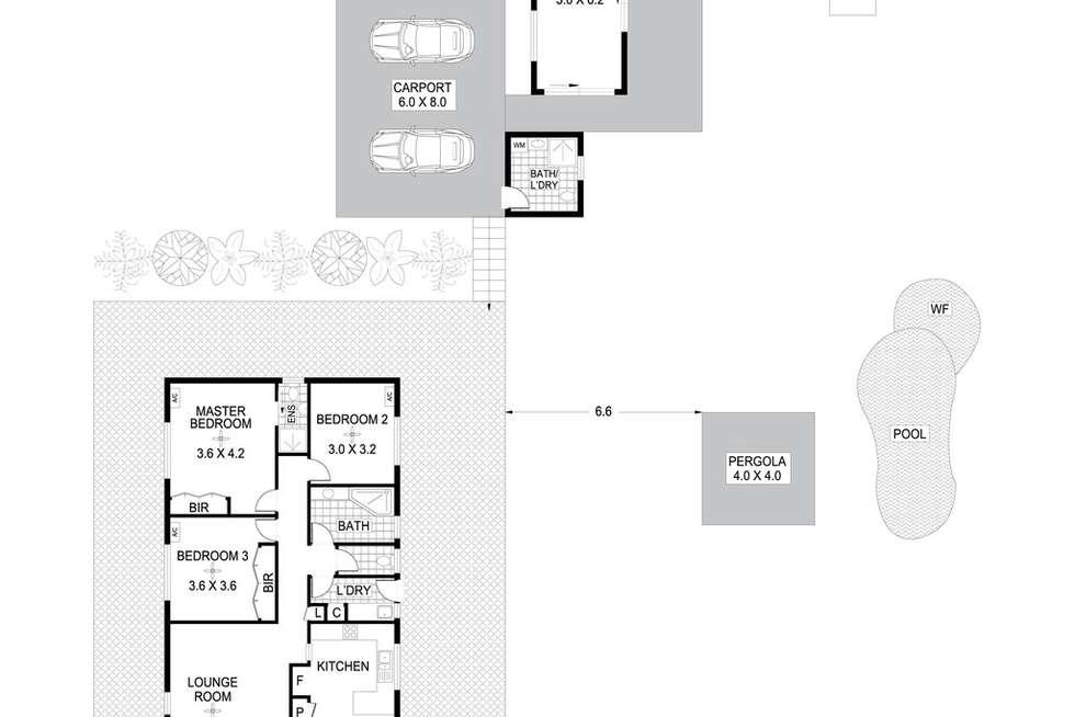 Floorplan of Homely house listing, 30 Stuckey Court, Howard Springs NT 835