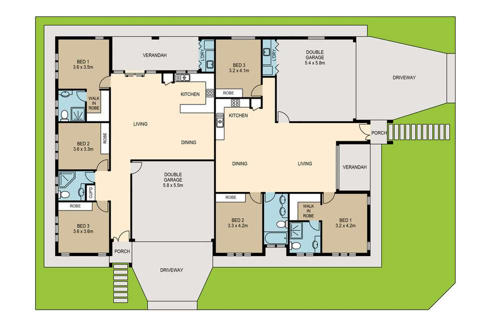 Floorplan of Homely unit listing, 1/23 Bevan Street, Muirhead NT 810