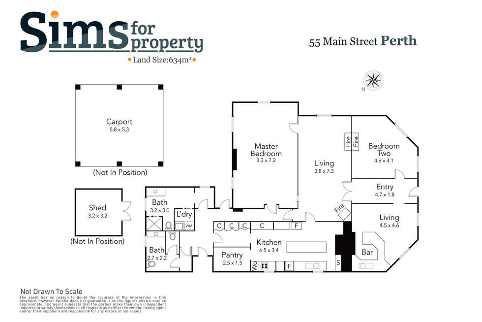 Floorplan of Homely house listing, 55 Main Road, Perth TAS 7300