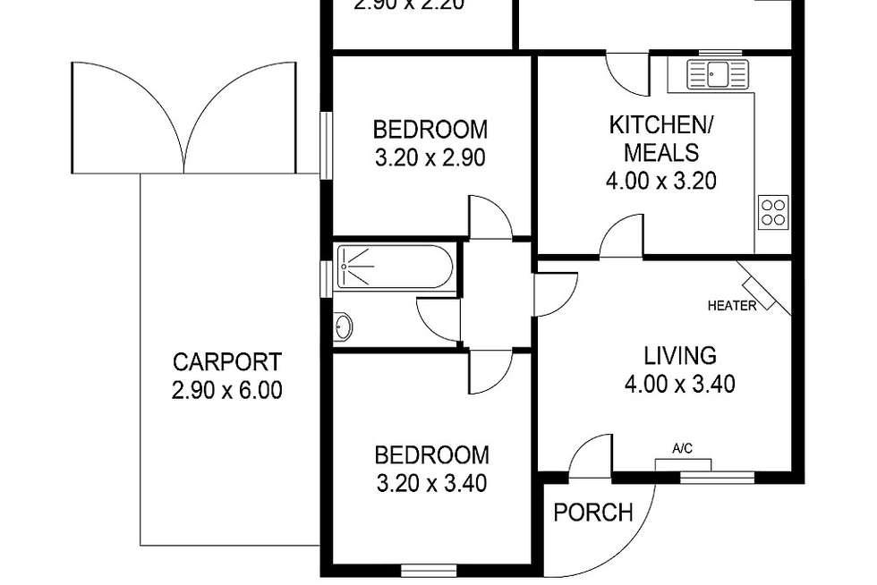 Floorplan of Homely house listing, 86 Blight Street, Ridleyton SA 5008