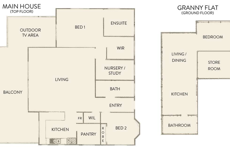 Floorplan of Homely house listing, 20 Devonshire Retreat, Falcon WA 6210