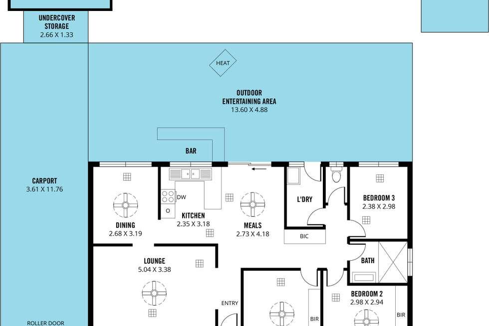 Floorplan of Homely house listing, 8 Claremont Street, Morphett Vale SA 5162