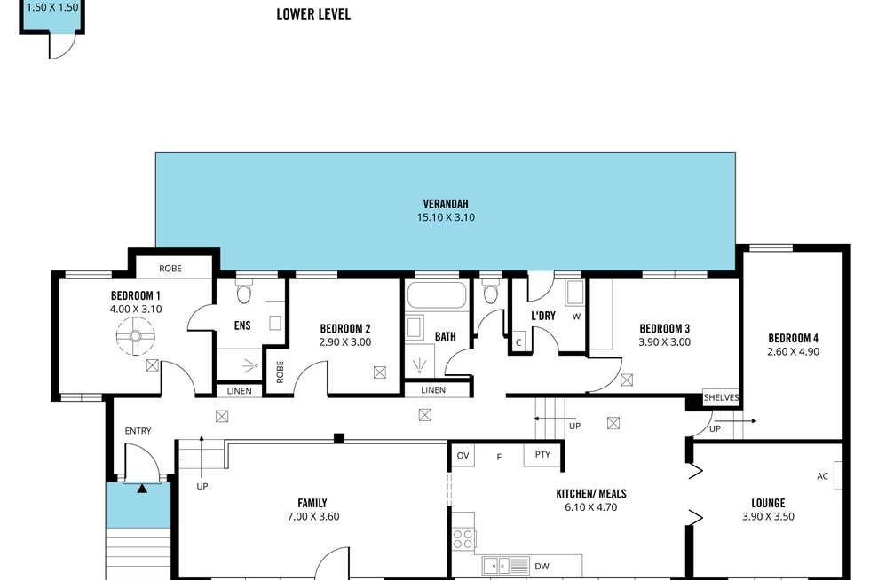 Floorplan of Homely house listing, 20 Wandilla Street, Seaview Downs SA 5049