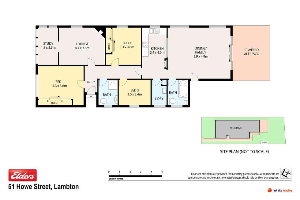 Floorplan of Homely house listing, 51 Howe Street, Lambton NSW 2299