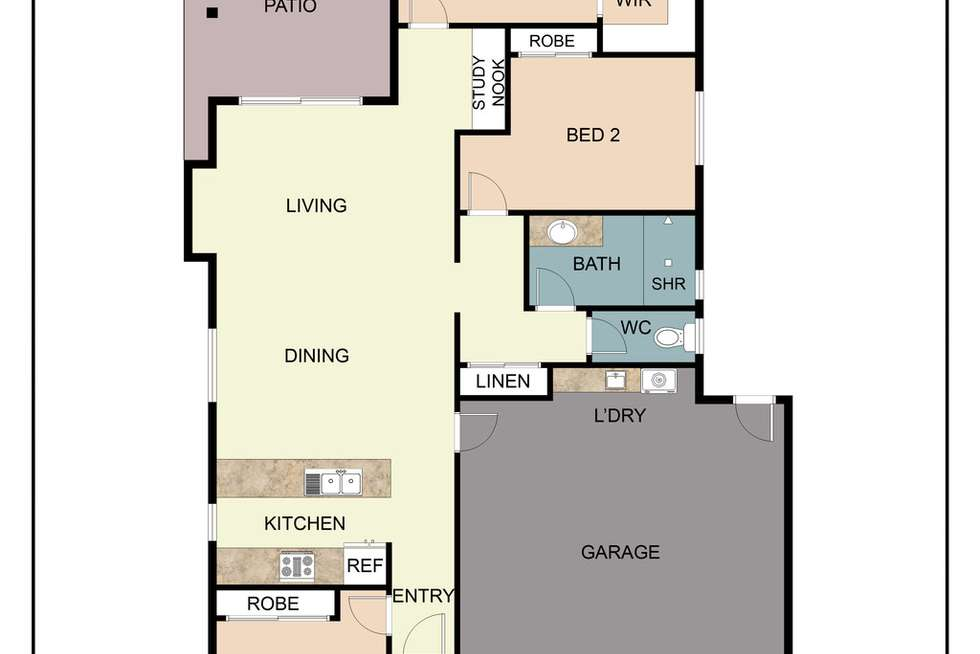 Floorplan of Homely house listing, 10/146-150 Shoal Point Road, Shoal Point QLD 4750